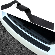 Car trunk bumper trim rear guard plate modified protective strip For Mazda 2 3 5 6 8 Mazda CX 7 CX 8 MX5 ATENZA Axela(China)