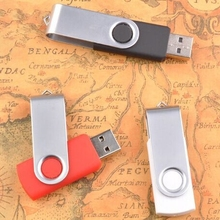 Cheapest Promotional Gifts Customized Logo Cle USB 512GB 128GB Flash Drive Pen Drive 8GB 16GB 32GB 64GB Metal Memory Stick 2.0(China)