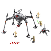 LEPIN 05025 Star Wars 7 Homing Spider Droid Figure Toys building blocks set marvel  compatible with legoe