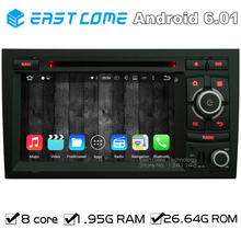 Octa Core 8 Core Android 6.0 Car DVD Player For SEAT EXEO 2009 2010 2011 2012 AUDI A4 2002 2003 2004 2005 2006 2007 With GPS