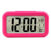 High Quality New Red LED Alarm Clock Despertador Temperature Sounds Control LED Display Electronic Desktop Digital Table Clocks