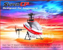 Newest Walkera NEW Super CP Flybarless 6CH 3D 3G RC Helicopter BNF no transmitter +Free Shipping