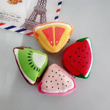 Cute Fruit Plush Women Female Bag Purse Storage package Gift Professional Factory price Drop Shipping #XTT