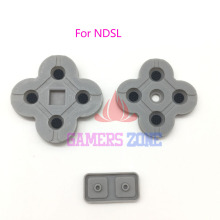 10Sets For DS Lite Conductive Rubber Button Pad Set Replacement Part For NDSL DSL Silicon Buttons(China)