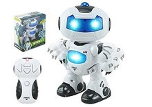 Remote Control Robot Toy for Kid Music Light Toys Super Fun RC Robot