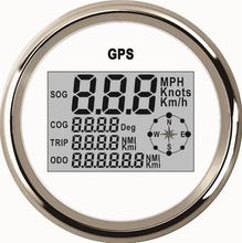 1pc Auto Tuning Gauges 85mm Digital GPS Speedometers GPS Odometers Motorcycle Tuning Meters 9-32v with Backlight and Antenna(China)