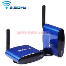 5.8Ghz Wireless AV Audio Video TV Sender Transmitter and Receiver for IPTV DVD STB DVR ,PAT-630(China)