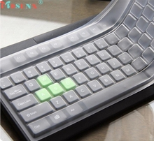 Mosunx Factory Price New Universal Silicone Desktop Computer Keyboard Cover Skin Protector Film 1PC 0222 Drop Shipping
