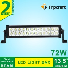 China Gold Supplier cheap led light bars 72 watt