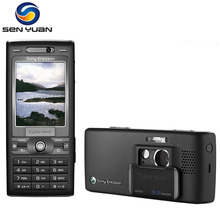 Original Unlocked Sony Ericsson K800i K800 cell phone 3.2MP Camera Bluetooth FM Radio JAVA k800 mobile phone