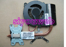NEW&Original CPU HEATSINK & FAN ASSEMBLY 643257-001 for HP COMPAQ G4 G6 laptop free shipping!!