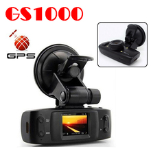 by dhl or ems 10 pieces GS1000VSA Built-in GPS & G-Sensor 5.0MP H.264 Full dhl Car Camera w/1.5' LCD/HDMI/Ambarella CPU GS1000