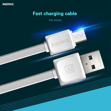 Original Remax 100cm Micro USB Cable for Samsung Xiaomi Data Sync Flat Wire Charge Cable For Android Phone Tablet Fast Charging