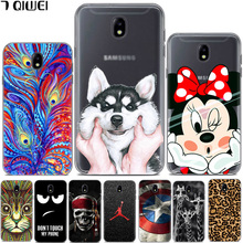 For Samsung Galaxy J7 2017 Case Cartoon Soft TPU Silicone Phone Cases  For Samsung J7 2017 / J7 Pro 2017 / J730 Hoesje Coque