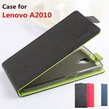 Mixed color High Quality Luxury Leather Case For Lenovo A2010 Cover Case housing For Lenovo A 2010 Phone Cover Cellphone cases(China)