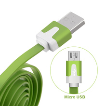 Crouch Micro USB Cable 2m 1m 20cm Charger USB Data Cable for Samsung HTC Huawei Mobile Phone Cables for Android Phones(China)