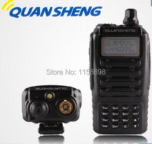 DHL freeship+2pcs/lot QuanSheng TG-UV2 dual band dual display vhf uhf 136-174 400-470mhz walkie-talkie handheld ham radio tguv2