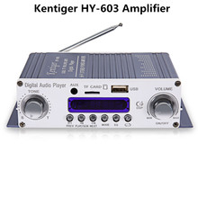 Original HY-602 603 400  Amplifier HY Speaker Kentiger HiFi Stereo Power Digital Amplifier with FM IR Control MP3 USB Playback