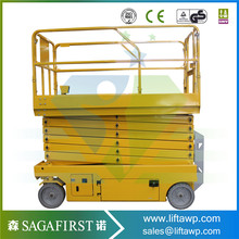 6m -11.8m Self propelled mobile electric scissor lift(China)