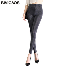 Buy BIVIGAOS New Women Summer Thin Silver Silk Leggings Slim Skinny Shiny lIce Silk Legging Pants Casual Workout Leggings Women for $8.99 in AliExpress store
