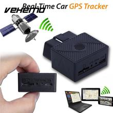 VEHEMO Car Truck GPS GPRS Tracker Mini OBD II Interface Real Time Tracking Device 3.7V Universal Gps Locator With Software