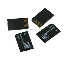 20pcs/lot SDHC TF to MS Pro Duo Card Adapter Converter Memory Stick Pro Duo Reader For PSP 1000 2000 3000 psp1000 2000 3000