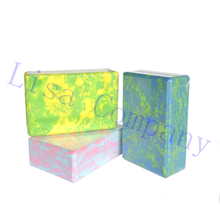 2017 hot sale camouflage high-destiny Pilates EVA yoga block environmental protection yoga accessories foam brick body shaping