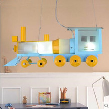 LED 21W-30W Children room  bedroom study train Pendant Lights 220-240v  @-9