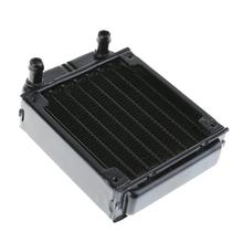 80mm Water Cooling Radiator Computer PC Water Cooling System Part Computer CPU GPU cooling cooler Aluminum Heat Exchanger(China)