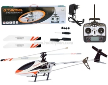 GT MODEL QS9019 Radio Control Helicopter 4Ch 2.4Ghz RTF Alloy Gyro Helicopter MODEL aircraft(China)