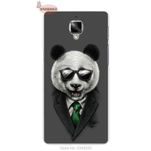 For One plus oneplus 5 3 2 one X Agent Panda Pattern hard PC Mobile Phone Back cover Case Protective