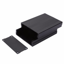 1pc Black Aluminum Enclosure Case Mayitr PCB Instrument Electronic Project Box 100x76x35mm(China)