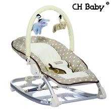 Free shipping Busy Baby Mental Baby Rocking Chair Infant Recliner Cradle Baby Manual Operation Chair