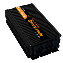 DC 24V to AC 220V 2500W 5000 watt pure sine wave power inverter 2500 watt Remote controller converters free shipping(China)