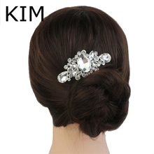 2014 Clips For Hair Wedding Tiara Bridal Hair Accessories Vintage Inspired Crystal Flower Comb, Jewelry, Accessory Party Piece