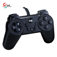BETOP BTP-1126 USB Interface Wired Mini Handle Game Controller With Turbo Repeating Set Function For PC Computer