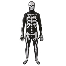 Skeleton Costume Halloween Masquerade Ghost Cosplay Devil Witch Zombie Halloween Role Playing Costume Skull Cosplay Horror Dress
