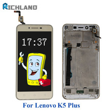 5inch For Lenovo Vibe K5 Plus A6020A46 LCD Display+Touch Screen Digitizer Assembly Replacement parts+K5 Plus Cell Phone tool set(China)