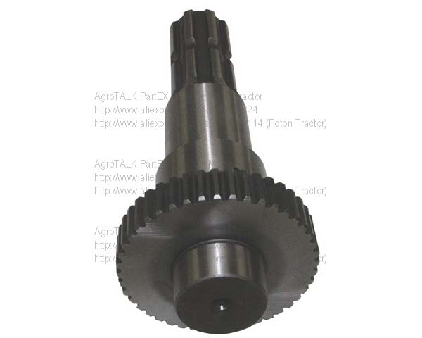 Foton LOVOL tractor parts, the PTO shaft, part number:  TA700.411-13<br>
