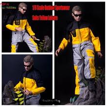 "1/6 Scale Outdoor Sportswear Suits Yellow For 12"" Action Figure COO b34003 Muscle Toys not include Figure,Head with other annex(China)"