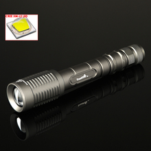 Trustfire Z5 Flashlight 5-Mode 1600 Lumens Bulb CREE XM-L2 LED Zoomable Flashlights outdoor Lamp torch(2x18650)(China)