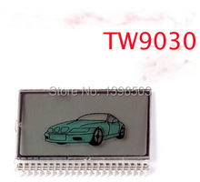 TW9030 Lcd Display for Russian Version 2 two way car alarm system Tomahawk TW-9030 Key Fob TW 9030 LCD Remote Controller starter
