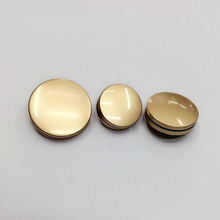 new fashion women's dress foot metal buttons good quality metal suit gold buttons decorative buttons for crafts 50pcs/lot