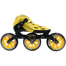 2017 Professional Speed Skate Shoes Women/Men Inline Skating Boots Adults Roller Skates for Children 125 Big Wheels