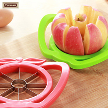 Fruit Apple Cutting Slicer Cutter Kitchen Part Cocina Tool Knife Sharps Stainless Steel Parer Chopper Vegetable Tool Divider(China)