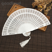Buy Free 1pcs Aromatic Wood Pocket Folding Hand Fan Elegant Women Folding Hand Fan Home Decor Party Favor Party Supplies for $3.55 in AliExpress store