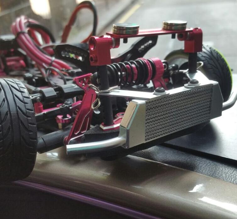 1//10 RC RACING DRIFT modèle Intercooler Refroidisseur d/'huile HSP Accessoires Crawler 00344