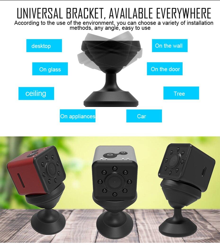 New Mini SQ13 Camera Full HD 1080P Wifi DV DVR Wireless Cam Video Camcorder Recorder Night Vision Small Camera like sq8 sq12 (6)