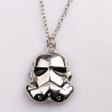 rongji jewelry HOT SELL Star Wars Darth Necklace Pendent for Women Movie Jewelry
