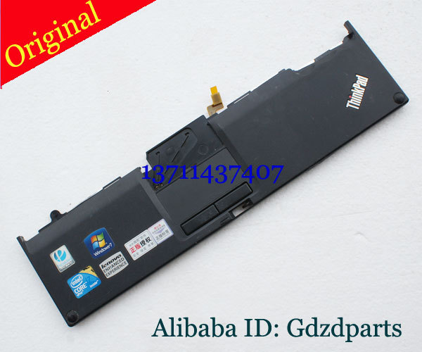 Original For IBM Lenovo Thinkpad X200 X201 X201T Palmrest Touchpad Cover 60.4DV08. 001 L+R button<br><br>Aliexpress